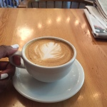 Super yummy soy vanilla latte